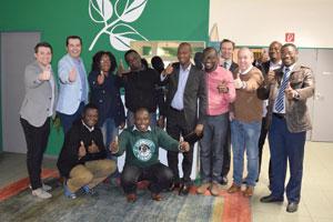 Go for Ghana: Geschäftsabschluss in Fronleiten