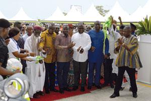 Go for Ghana: Eröffnung der Anlage am 5. April
